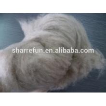 Fabrikpreis Mongolische reine Kaschmirfaser braunes 16.5mic / 30-32mm