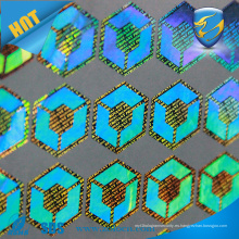 Holograma de certificado 3D personalizado ZOLO adhesivo holográfico barato adhesivo holograma anti etiqueta falsa