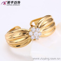 51020 Xuping copper alloy bangles gold bowknot bangle cuff for girls
