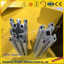 L'extrusion en aluminium de Customzied assemblent le profil de ligne pour l'usage industriel