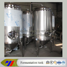 Jacketed Conical Beer Fermenter