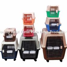 Carrinha de Petróleo de plástico de alta qualidade / Pet Flight Cage / Dog Transport Box (Whatsapp: +86 13331359638)