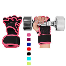 Amazom Lieferant 10 Jahre Herstellung Crossfit Training Workout Fitness Benutzerdefinierte Gewichtheben Powerlifting GYM Handschuhe