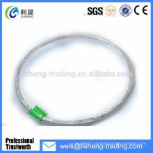 19 * 7 Eslinga de alambre de acero de alta tensión galvanizada