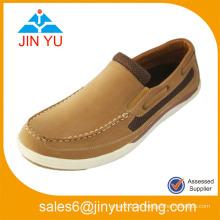Moda China Wholesale PU 2014 hombres moda casual zapatos