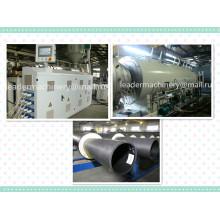 Linha da extrusão da tubulação de água do HDPE do PE de 110mm 160mm 400mm 450mm / linha de produção