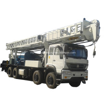 Truck mounted drilling rig YKMC-600