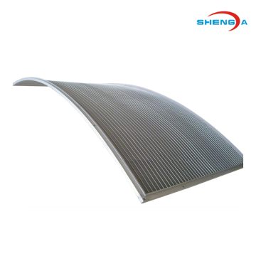 Elemen Filter Layar Kurva Wedge Wire