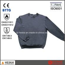 Flama-retardador roupas En11612 En1149 Fr moletom