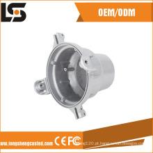 Fundição de alumínio Fundição de China Fábrica de Componentes de habitação de motor com usinagem CNC