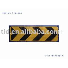 Reflective caution tape