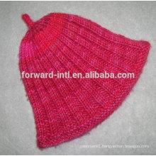 2014 hotsale fashion custom women winter cashmere hat