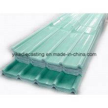 Hoja de techo de fibra de vidrio, hojas de techo FRP transparente