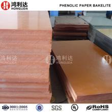 Tablero laminado de papel fenólico de baquelita