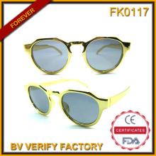 Fk0117 круглые золотые очки для малыша