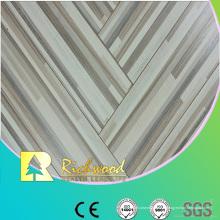 Le chêne de relief de ménage 12mm a laminé le plancher Lamiante bordé