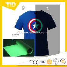 Brilho da troca de calor no filme escuro da impressão de transferência térmica para a roupa