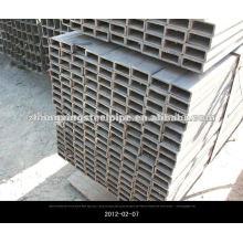 Sección hueco de acero de la pipa EN10210 laminado en caliente tubos cuadrados Rectanglar sin costura y acero cuadrado