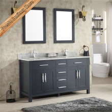 60 Inch Wholesale Marble Top Modern Bathroom Cabinets