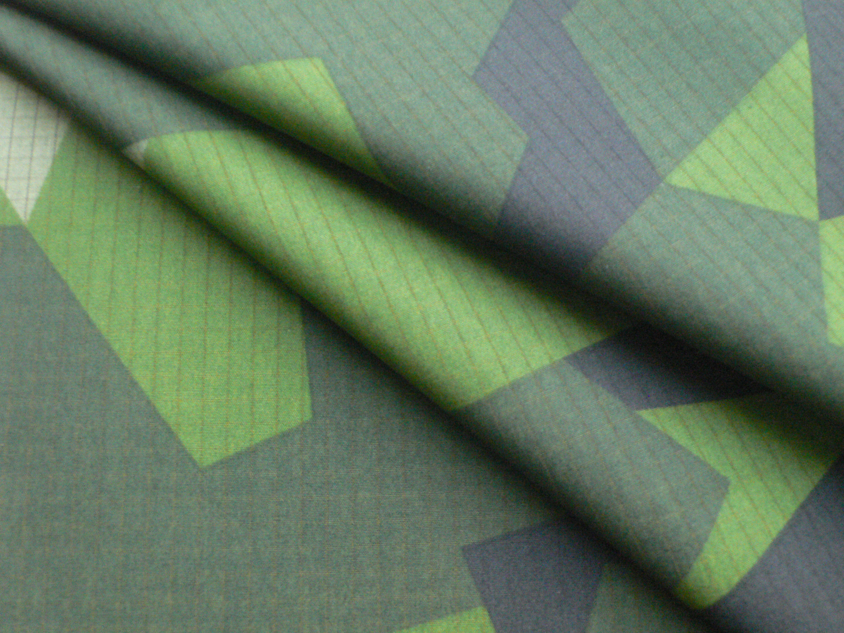 Rip-stop Military Camouflage Fabric for Sweden