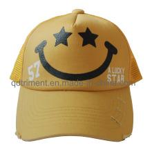 Promoción pantalla de impresión de la esponja Compuesto frontal Mesh Trucker Hat (TMT0090A-1)