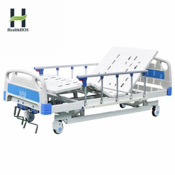 Vente chaude trois fonctions lit manuel médical de l'hôpital