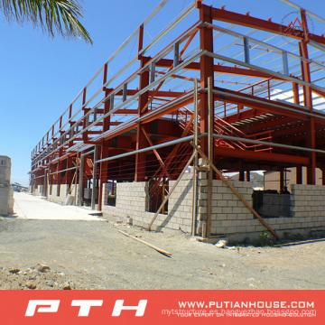 2015 Estructura de acero económica personalizada prefabricada Warehouse