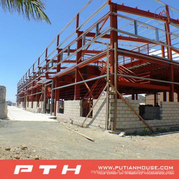 Entrepôt préfabriqué adapté aux besoins du client de structure métallique de grande envergure de conception