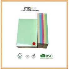 101 * Couche-note de couleur 153 mm / papier mignon / cube en papier