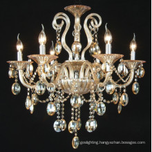 Amber Crystal Chandelier Lights (KD8005-6)