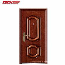 ТПС-127 горячие продажи Гальванизируйте металлическая дверь с замком