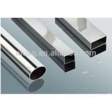 Anodized Gold Extruded Aluminum Profile With Round tube ISO9001