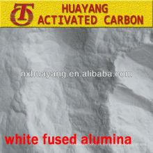 325 mesh AL2O3 99,9% de alumínio fundido branco refractário para fundição de precisão
