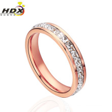 2015 High Quality Diamond Stainless Steel Jewellery Ring Fashion Ring (hdx1029)