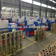 14DT(0.25-0.6) cable making equipment Copper fine wire drawing machine with ennealing