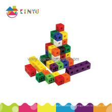 Building Blocks/Snap Linking Cubes for Kids (K002)