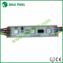 Módulo do diodo emissor de luz do smd 5050 rgb 75x15mm da cor completa de Shiji, 20pcs / corda