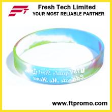 Presente promocional Sports Silicone Wristband para gravado