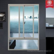 Double Hung Sliding Aluminium Windows with Quality Hollow Glass