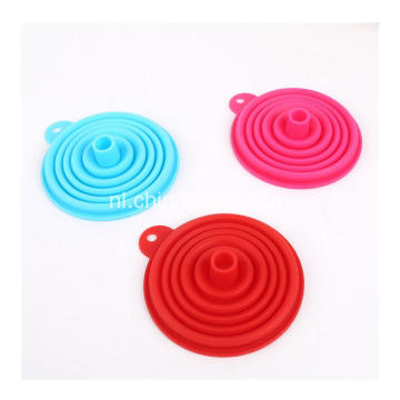 Food Grade Silicone Tool Nieuwe Soft Water Oil siliconen trechter