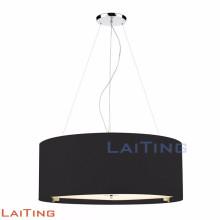 Lustre en gros bon marché contemporain plafond noir pendentif lumière 71134