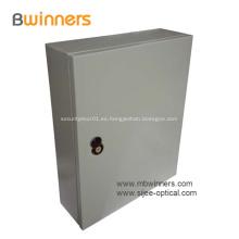 Gabinete de distribución de fibra divisor FTTH para exteriores 48 núcleos