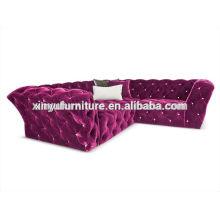 Classical fabric cover pub sofa A80894