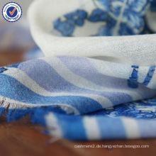 Benutzerdefinierte drucken Ein Stück kann Digitaldruck 100% natürliche Wolle Schal SWW806 gemacht werden