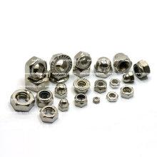 Ss 304 Sechskant-Nylon-Sicherungsmutter