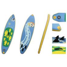 2,4 m kleine aufblasbare Sup-Board für Teenager und weiblich, Surfbrett, Stand up Paddle Board