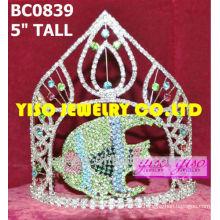 Fischkristall Schönheitswettbewerb Krone