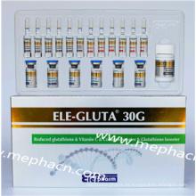 Blanqueamiento de la piel Inyección de glutatión 30 g # Precio bueno Suministro de fábrica #