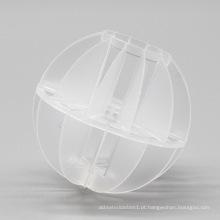 Embalagem de bola oca poliédrica, embalagem plástica da torre