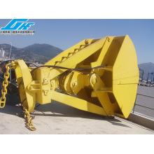 Equipo de manejo mecánico con cuatro cuerdas Clamshell Coal Grab (4-60T)